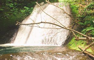 札幌市内のぶらり滝 乙女の滝 (手稲区)