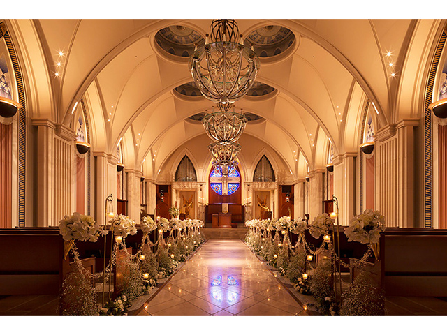 花論珈琲茶房&藻岩シャローム教会のウエディングプラン